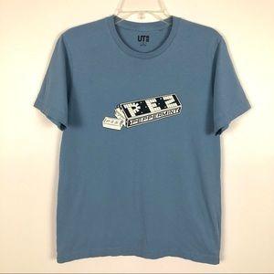 PEZ Peppermint Blue Uniqlo T-Shirt S